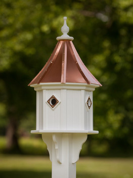 "14"" Octagon Bird Villa"