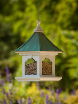 "12""x 26"" Hanging Bird Feeder"