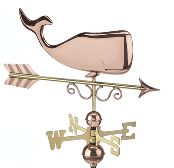 Save the Whales Weathervane