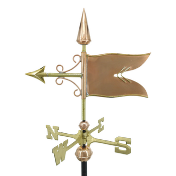 Small Banner Weathervane
