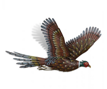 Metal Pheasant Wall Decor