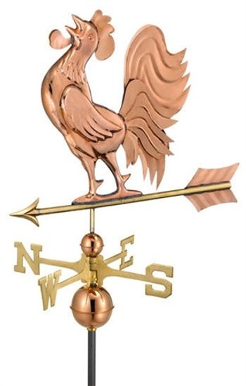 Crowing Rooster Weathervane 1