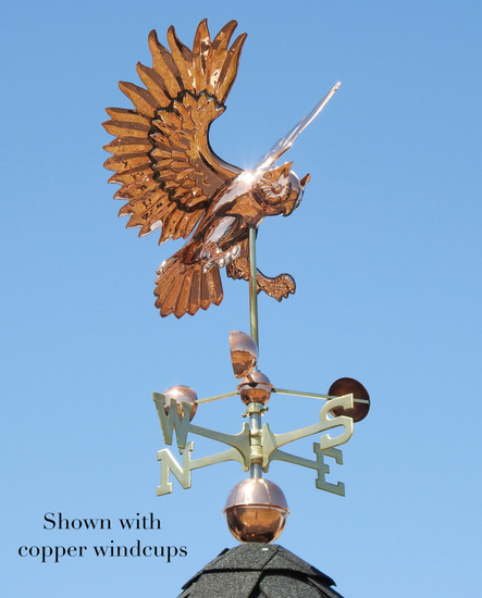 Flying Owl Weathervane