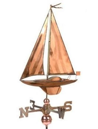 Sailboat Weathervane 1