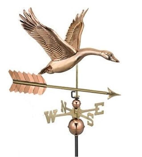 Feathered Goose Weathervane