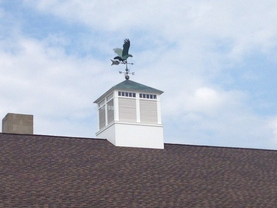Large Flying Eagle Weathervane