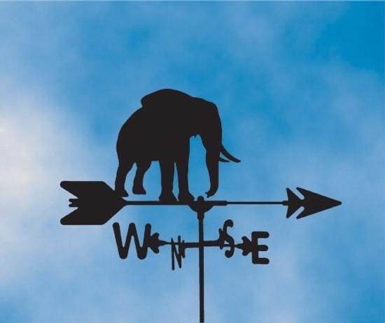 Elephant Weathervane