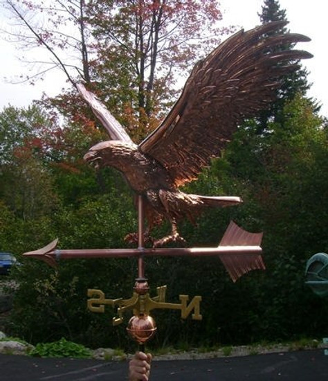 Jumbo Flying Eagle Weathervane