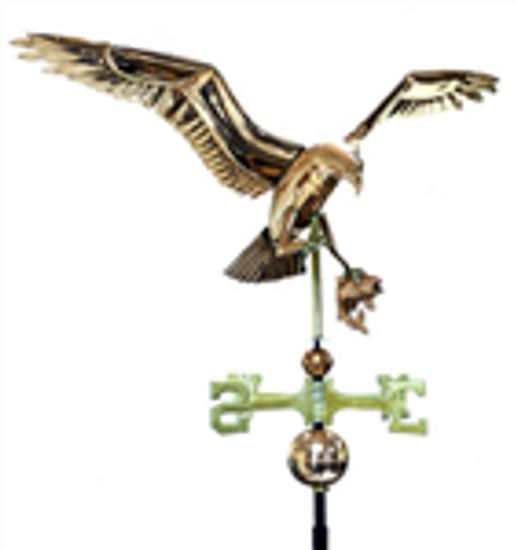 Deluxe Osprey with Fish Weathervane 1