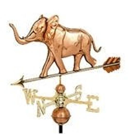 Elephant Weathervane 1