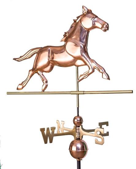 Black Jack Horse Weathervane