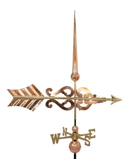 Scroll Arrow Weathervane