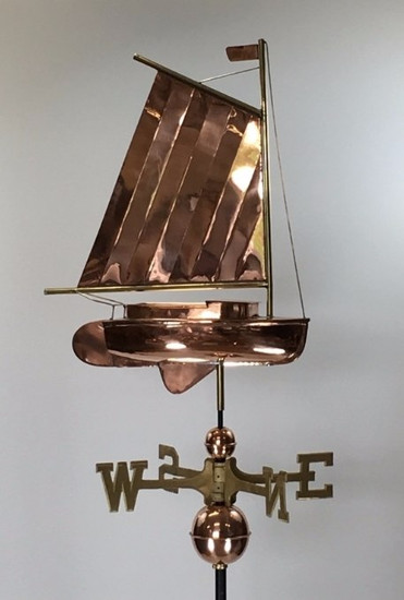 Catboat Weathervane