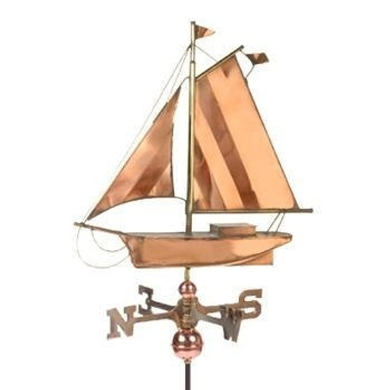 Sloop Weathervane