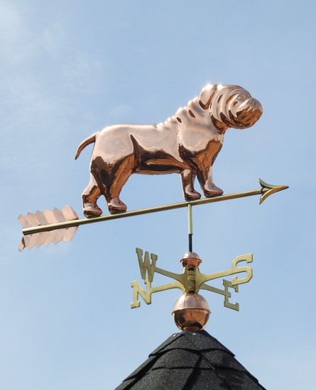 Bulldog Weathervane