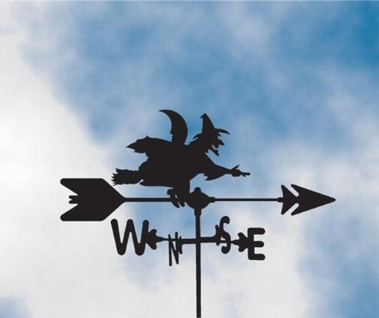 Witch Weathervane 1