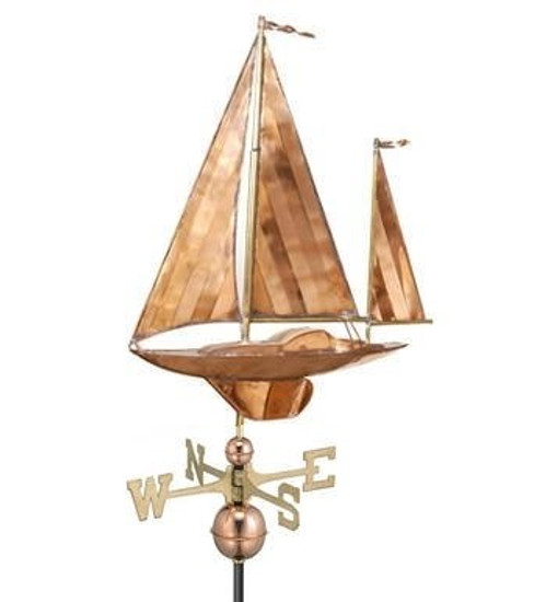 Large Yawl Weathervane