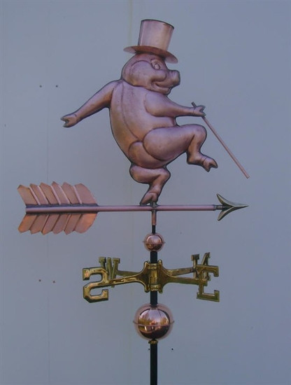 Dancing Pig Weathervane