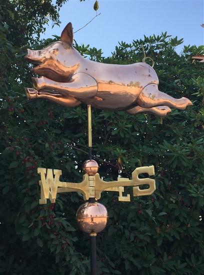 3D Pig Weathervane