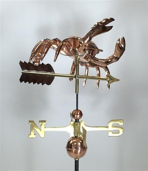 Full Bodied Crab Weathervane
