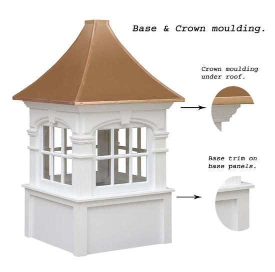 Arched Carlisle Cupolas