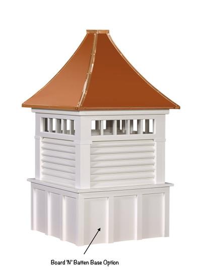 Morton cupolas