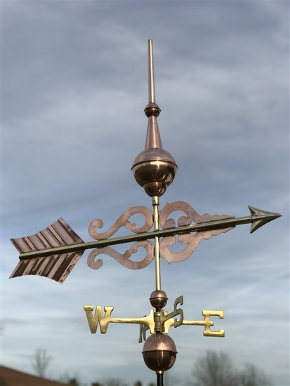 Finial Arrow Weathervane