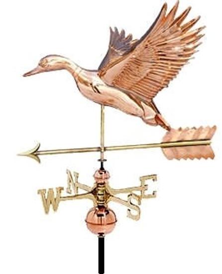Flying Duck Weathervane 1