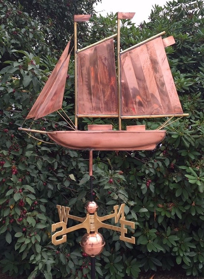 Large Schooner Weathervane 1