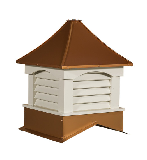 Franklin arch metal cupolas
