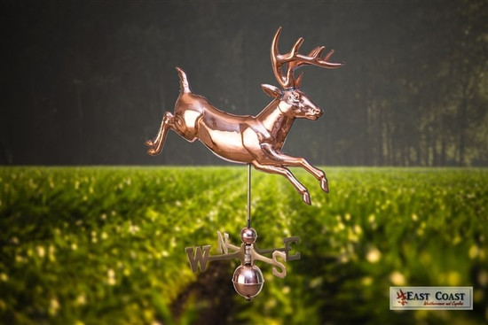 Leaping Deer Weathervane 1