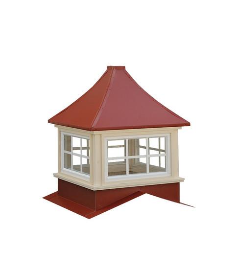 Milford metal cupolas
