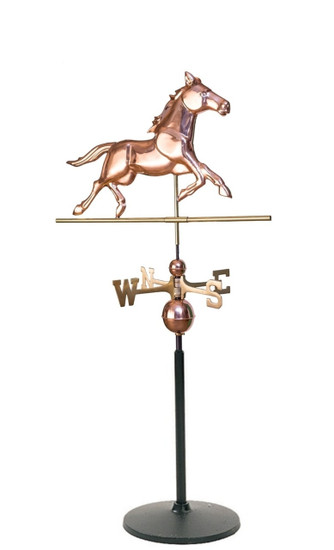 Weathervane floor stand
