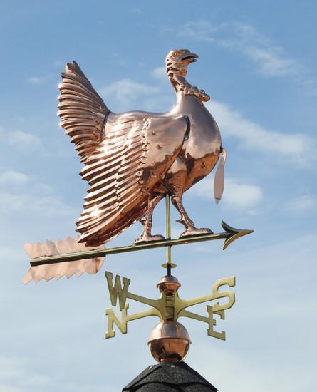 Strutting Turkey Weathervane
