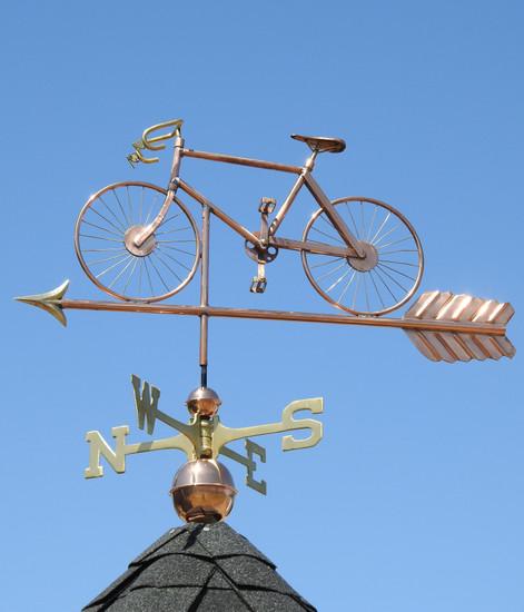 Road Bike Weathervane