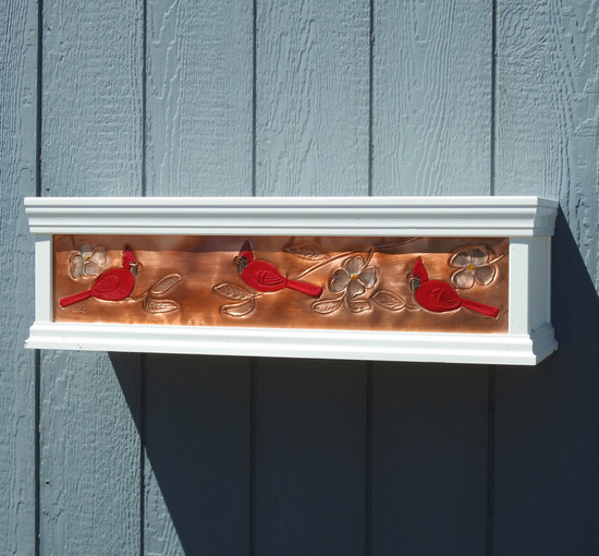 Cardinal Window Box