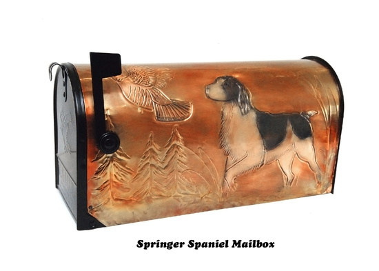 Springer Spaniel Mailbox
