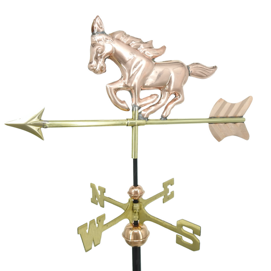 Small Mustang Horse Weathervane