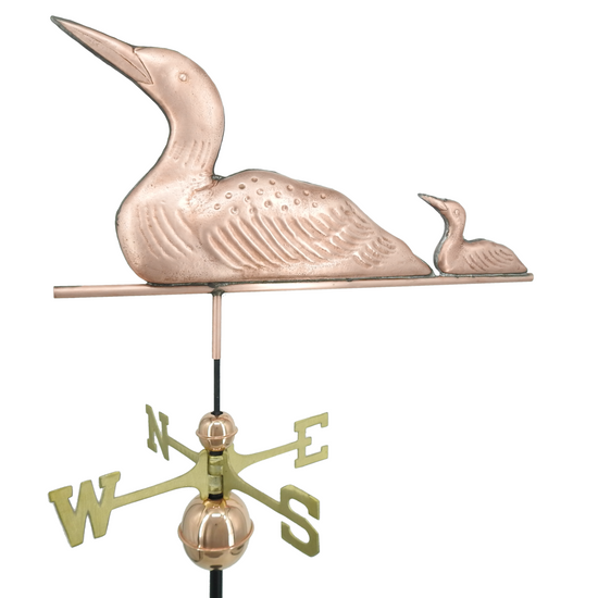 Loon and Chick Weathervane 2