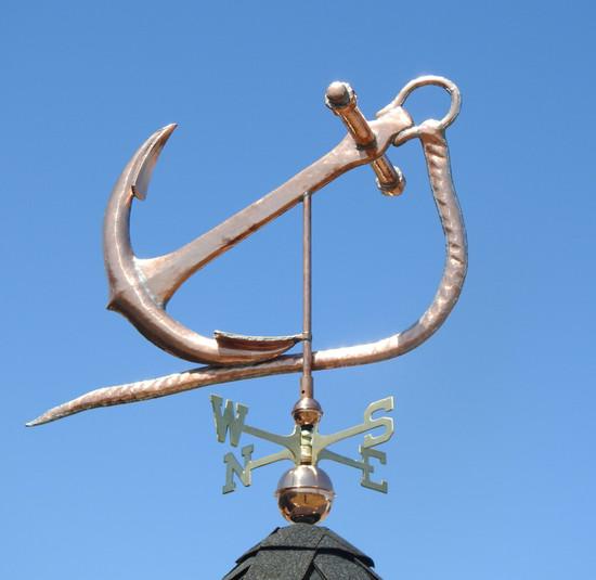 Large Anchor Weathervane