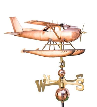Float Plane Weathervane Eastcoast Weathervanes