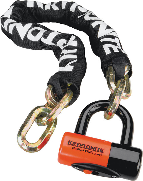 Kryptonite New York Chain (w/Evolution Series 4 Disc Lock) (3.25 feet)