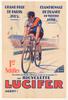 Lucifer Original Vintage Bicycle Poster - Racing