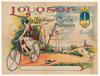 Louqsor Original Vintage Bicycle Poster