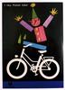 I Like Polish Bike Original Vintage Bicycle Poster