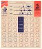1903-1952 Tour De France Routes Original Vintage Poster