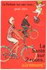 La Sante Original Vintage Bicycle Poster