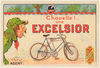Excelsior Original Vintage Bicycle Poster by O'Gallop