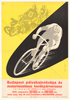 Youth Cup Motor Pacing Original Vintage Bicycle Poster