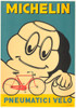 Michelin Pneumatici Velo Original Vintage Bicycle Poster